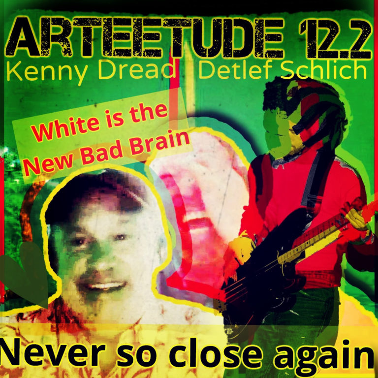 Episode 12.2  Singer/Songwriter/Producer Kenny Dread and Detlef Schlich in an ArTEEtude talk about Dread´s time in Washington as white musican being on stage with bands like Bad Brains, Static Disruptors and more.